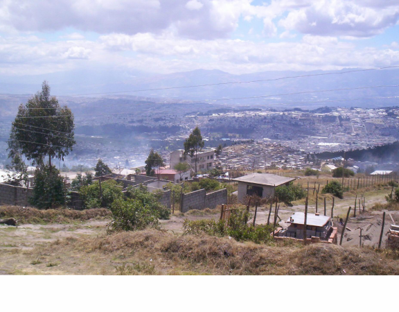 proyecto agua para el barrio Mirador del noroccidente
