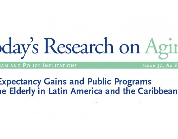 Elderly in latin america and the caribbean population reference