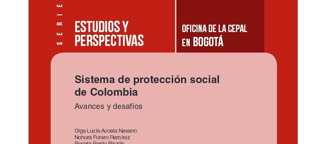 Post  CEPAL Sistema de protección social de Colombia