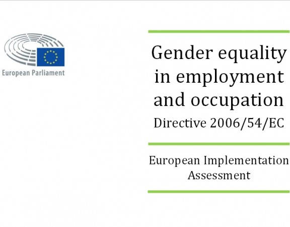 Gender equality european parliament